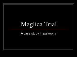Maglica Trial