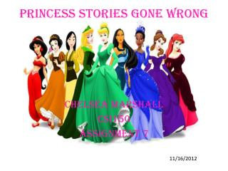 Princess Stories Gone Wrong