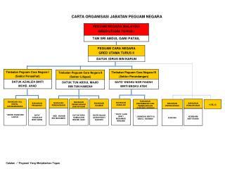 CARTA ORGANISASI JABATAN PEGUAM NEGARA