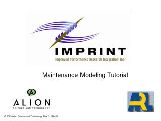 Maintenance Modeling Tutorial