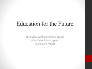 Guidance in schools   a future