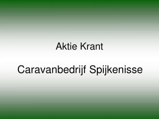 Aktie Krant