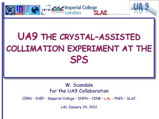 UA9 the crystal-assisted collimation experiment at the SPS
