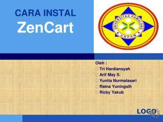 CARA INSTAL  ZenCart