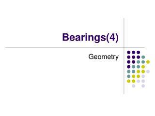 Bearings(4)