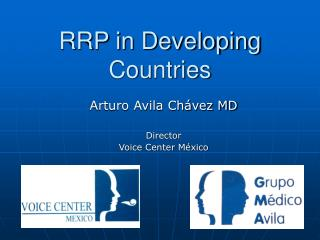RRP in Developing Countries