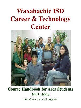 Course Handbook for Area Student