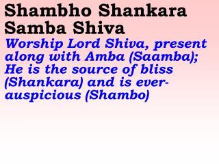 1209_Ver06L_Shambho Shankara Samba Shiva Hara Hara Shankara Bhola Maheswara