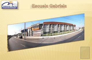 Escuela Gabriela