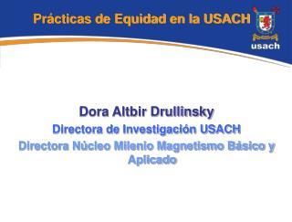 Prácticas de Equidad en la USACH