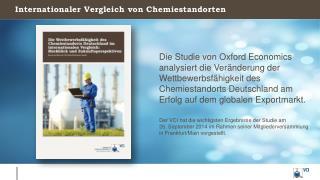 Internationaler  Vergleich  von  Chemiestandorten