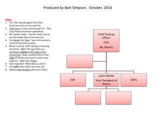 Produced by Bart Simpson.  October,  2014
