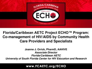 F/C AETC-Project ECHO� Team