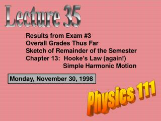 Monday, November 30, 1998