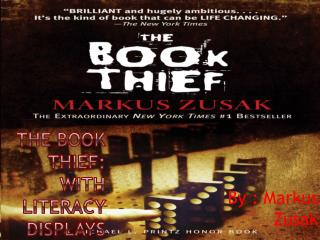 The Book Thief: With literacy displays