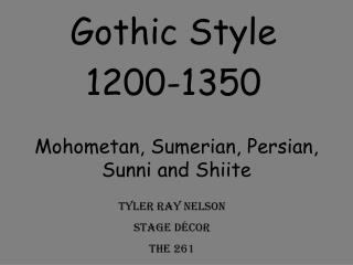 Mohometan, Sumerian, Persian, Sunni and Shiite