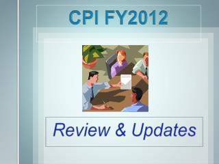 CPI FY2012