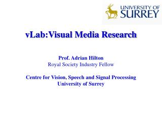 vLab:Visual Media Research