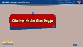 T�RK�E / C�mleye Hakim Olan Duygu
