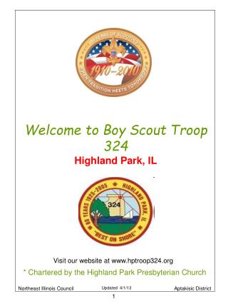 Welcome to Boy Scout Troop 324 Highland Park, IL