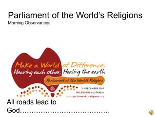 Parliament of the World's Religions Morning Observances