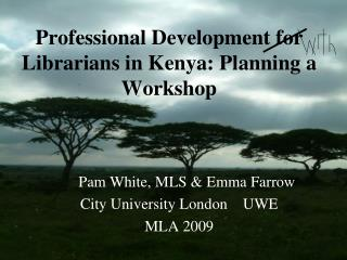 Professional Development for Librarians in Kenya: Planning a Workshop