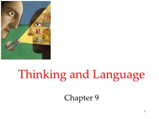 Thinking and Language Chapter 9