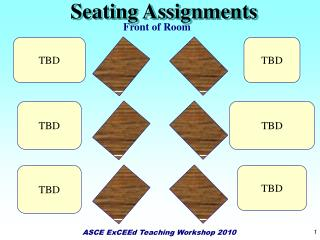 Seating Assignments