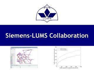 Siemens-LUMS Collaboration