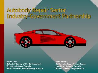 Autobody Repair Sector