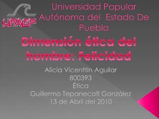 Universidad Popular Autónoma del  Estado De Puebla