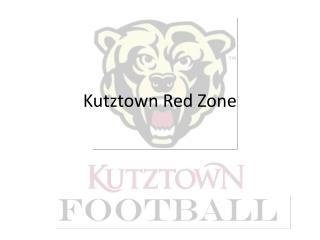 Kutztown Red Zone