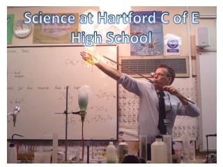 Science at Hartford C of E High School