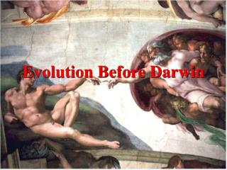 Evolution Before Darwin Ancient Cultures