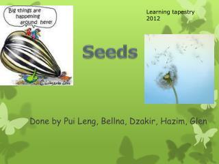 Done by Pui Leng, Bellna, Dzakir, Hazim, Glen