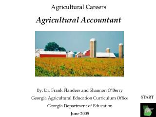 Agricultural Careers Agricultural Accountant
