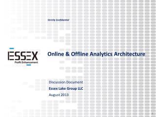 Online & Offline Analytics Architecture