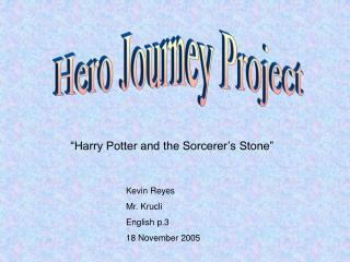 Hero Journey Project