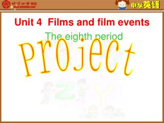 Unit 4  Films and film events