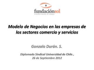 Modelo de Negocios en las empresas de los sectores comercio y servicios