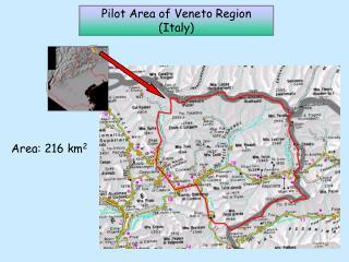 Area: 216 km 2