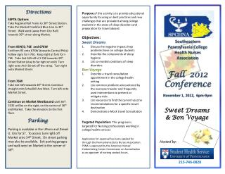 Fall  2012 Conference