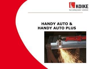 HANDY AUTO &  HANDY AUTO PLUS