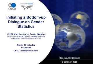 UNECE Work Session on Gender Statistics