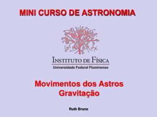 MINI CURSO DE ASTRONOMIA