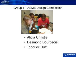 Group 11- ASME Design Competition