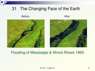 31   The Changing Face of the Earth