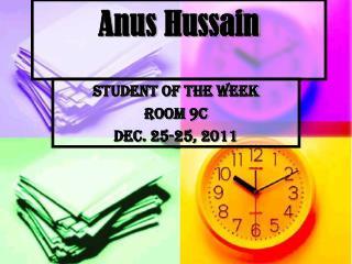 Anus Hussain