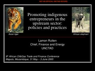 Promoting indigenous entrepreneurs in the upstream sector:  policies and practices