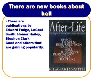 There are new books about hell